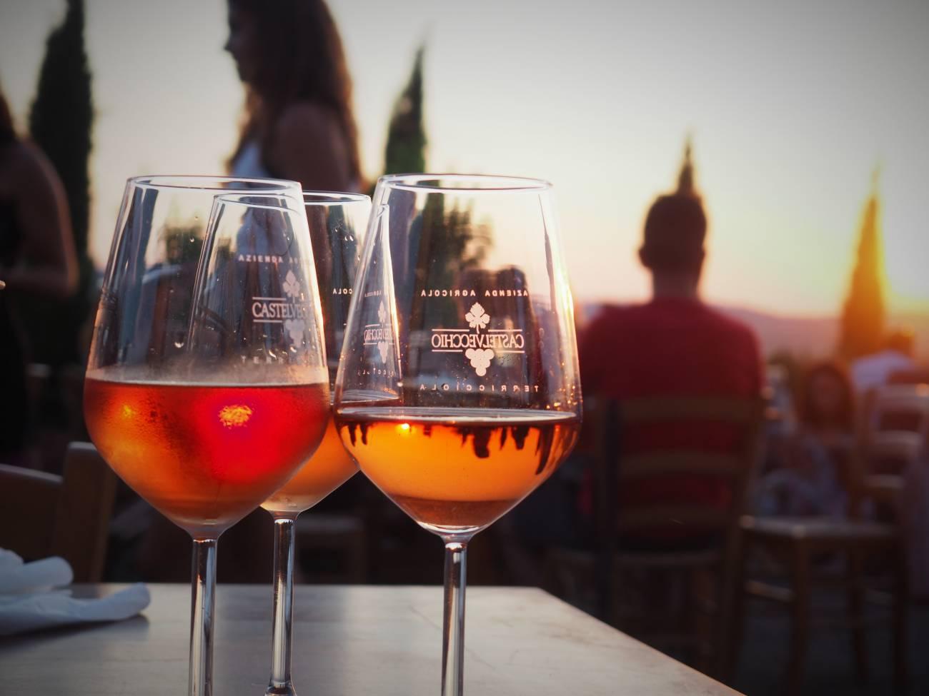 Castelvecchio wine tasting
